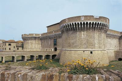 Della Rovere Medieval Castle, Senigallia, Marche, Italy--Photographic Print