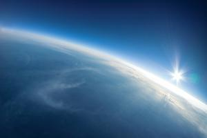 Near Space Photography - 20Km above Ground / Real Photo by dellm60