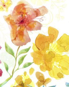 Blossoms in the Sun I by Delores Naskrent