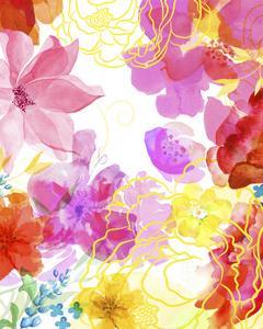 Blossoms in the Sun V by Delores Naskrent