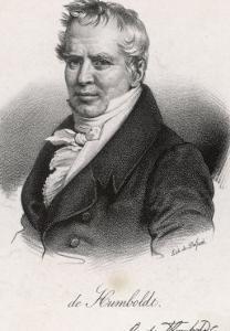 Alexander Von Humboldt German Scientist and Traveller in Middle Age by Delpech