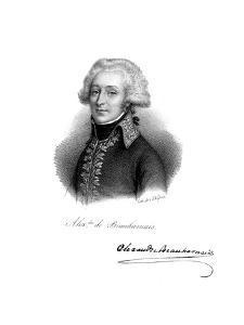 Alexandre, Vicomte De Beauharnais (1760-179), French Soldier by Delpech