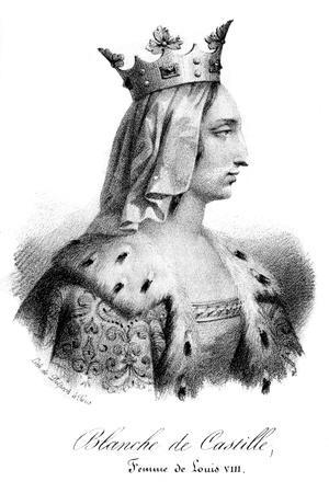 Blanche of Castile, Wife of Louis VIII of France