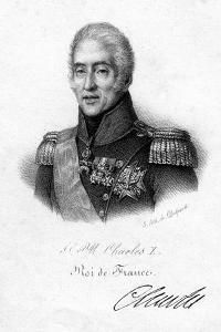 Charles X, King of France, 19th Century by Delpech