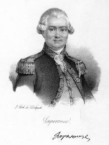 Comte De La Perouse, 18th Century French Navigator, Astronomer and Explorer, C1830 by Delpech