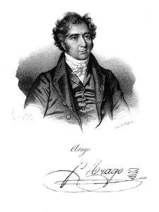 Dominique Francois Jean Arago (1786-185), French Astronomer, Physicist and Politician, C1820 by Delpech