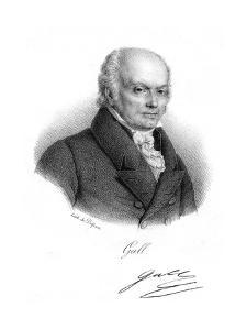 Franz Joseph Gall, German Physician and Founder of Phrenology, C1820 by Delpech