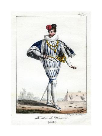 Jacques De Savoie, 2nd Duke of Nemours, 1580, (C1795-182)