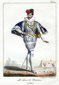 Jacques De Savoie, 2nd Duke of Nemours, 1580, (C1795-182) by Delpech