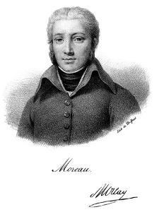 Jean Victor Moreau, French Revolutionary Soldier by Delpech