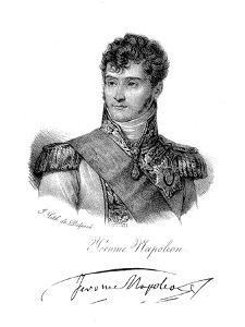 Jerome Bonaparte, Brother of Napoleon, C1820 by Delpech