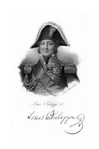 Louis Philippe I, King of France, 19th Century by Delpech