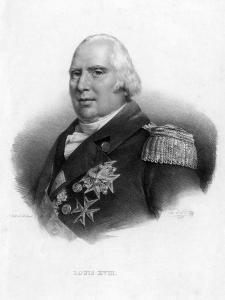 Louis XVIII, King of France by Delpech