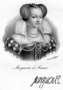 Marguerite of France by Delpech