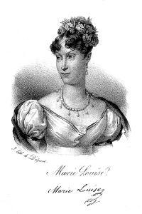 Marie-Louise, Empress of the French, C1830 by Delpech