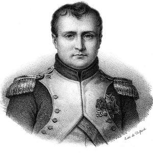 Napoleon I Bonaparte (1769-182), Emperor of France from 1804, C1830 by Delpech