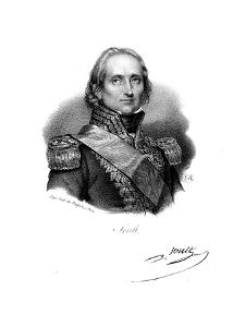 Nicolas Jean De Dieu Soult, French Soldier and Statesman, C1830 by Delpech