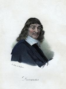 Rene Descartes, French Philosopher, Mathematician, and Scientist by Delpech