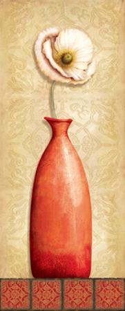 Asian Red I by Delphine Corbin