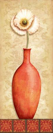Asian Red II by Delphine Corbin