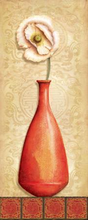 Asian Red III by Delphine Corbin