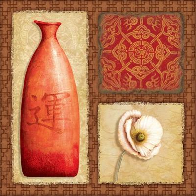 Oriental Collage I by Delphine Corbin