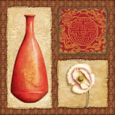 Oriental Collage II by Delphine Corbin