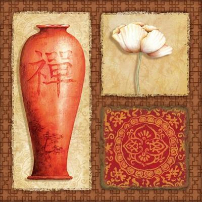 Oriental Collage IV by Delphine Corbin