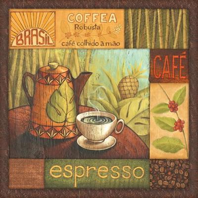 Pause Cafe II by Delphine Corbin