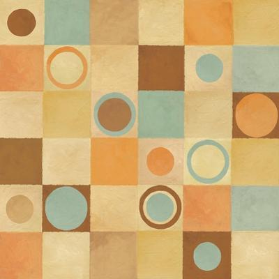 Tic Tac Dots I by Delphine Corbin