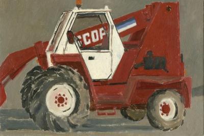 Tracteur, Canville, 2007