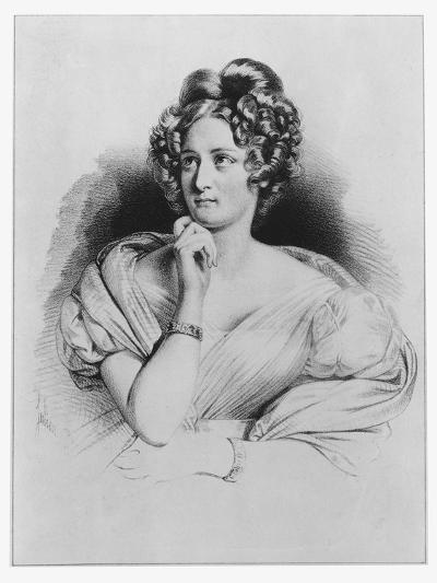 Delphine De Girardin--Giclee Print