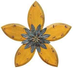 Delton Wall Flower - Yellow