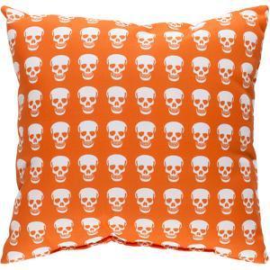 Dem Bones Pillow - Orange