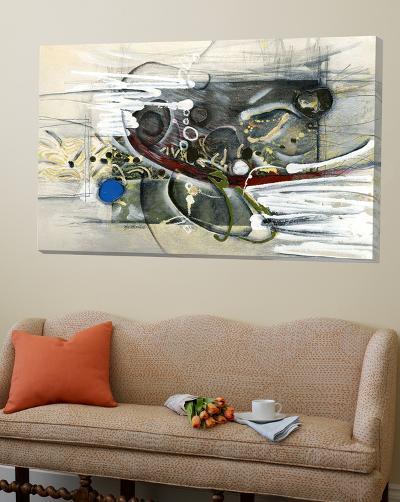 Démarcation-Sylvie Cloutier-Loft Art