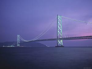 Honshu-Shikoku Bridge, Nr. Kobe, Japan by Demetrio Carrasco