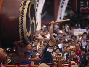 Kodo Drummers, Tokyo, Japan by Demetrio Carrasco