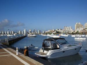 Port and Sailing Boats, Punta Del Este, Uruguay by Demetrio Carrasco