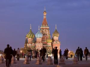 St, Basil's Cathedral, Red Square, Moscow, Russia by Demetrio Carrasco