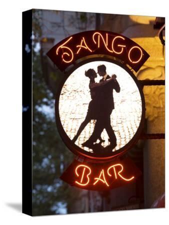 Tango Bar Sign, Buenos Aires, Argentina