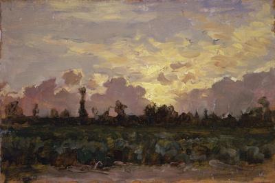 Golden Clouds, (Landscape at Dawn)