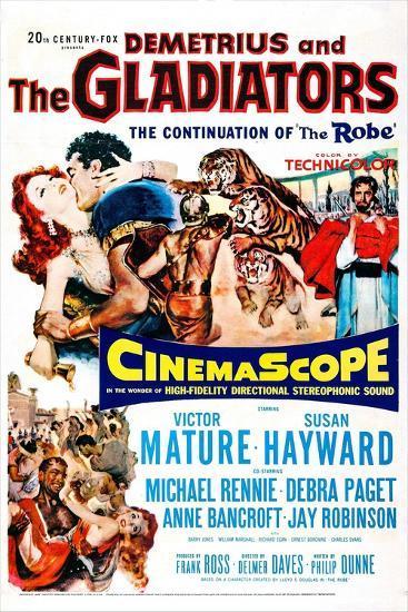 Demetrius and the Gladiators--Art Print