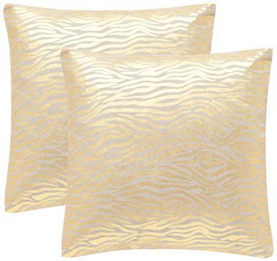 """Demi Pillow Pair - Gold 18"""""""