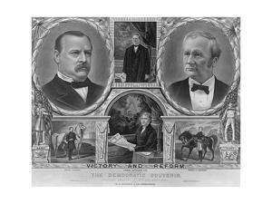Democratic Presidential and Vice Presidential Nominees of 1884