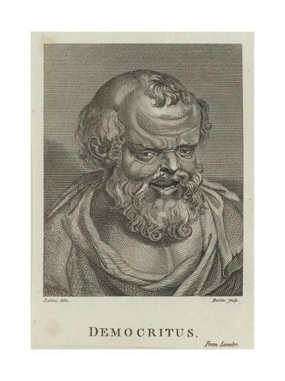 Democritus-Peter Paul Rubens-Giclee Print