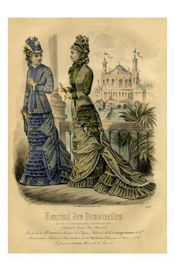 Demoiselles #4153--Art Print