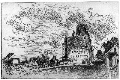 Demolition, C1840-1890-Johan Barthold Jongkind-Giclee Print