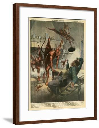 Demon in Italy--Framed Giclee Print