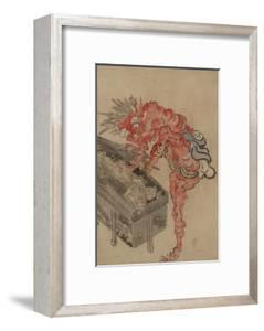 Demon, Possibly Ibaraki, Opening a Box, Early 19th C