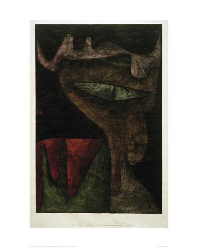 Demonic Lady-Paul Klee-Giclee Print